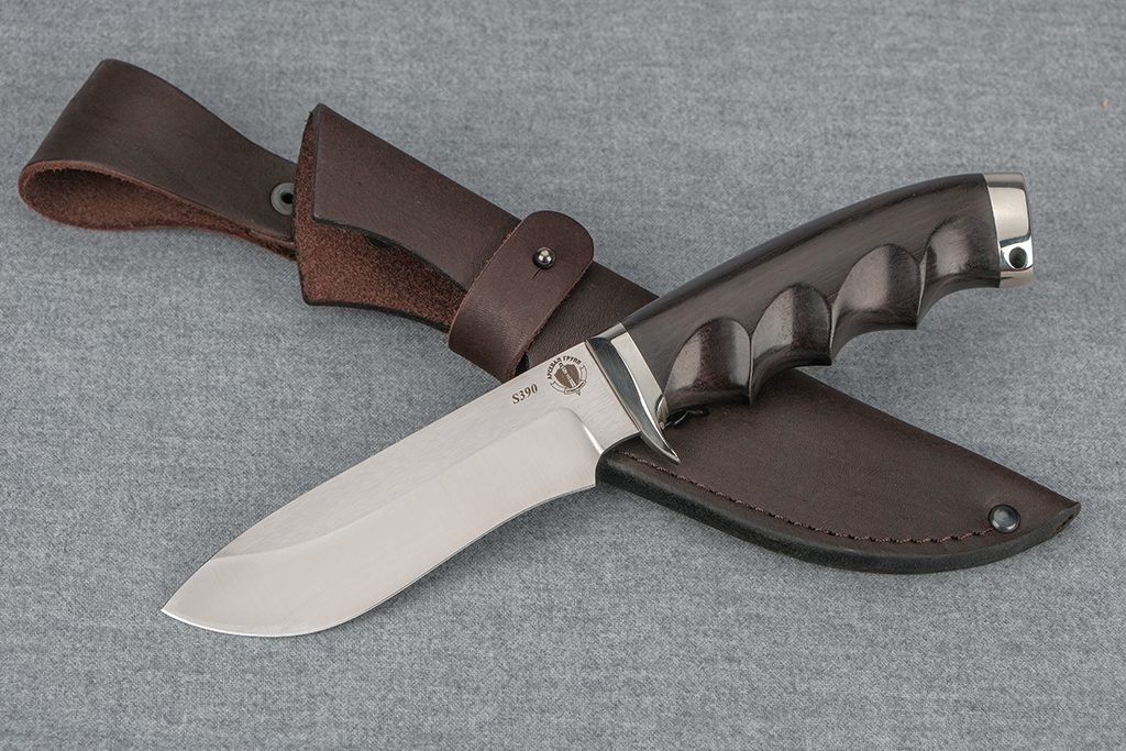 "Нож ""Скаут"" (S390, литье, граб под пальцы)"