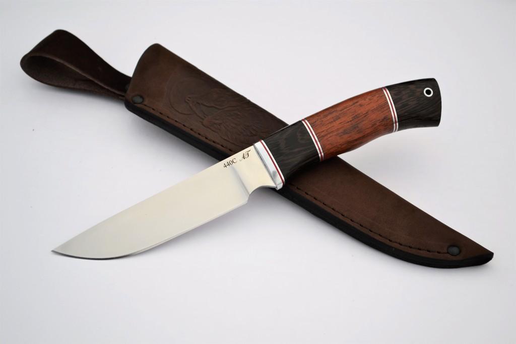 "Нож ""Рысь"" (440С, венге, бубинга)"