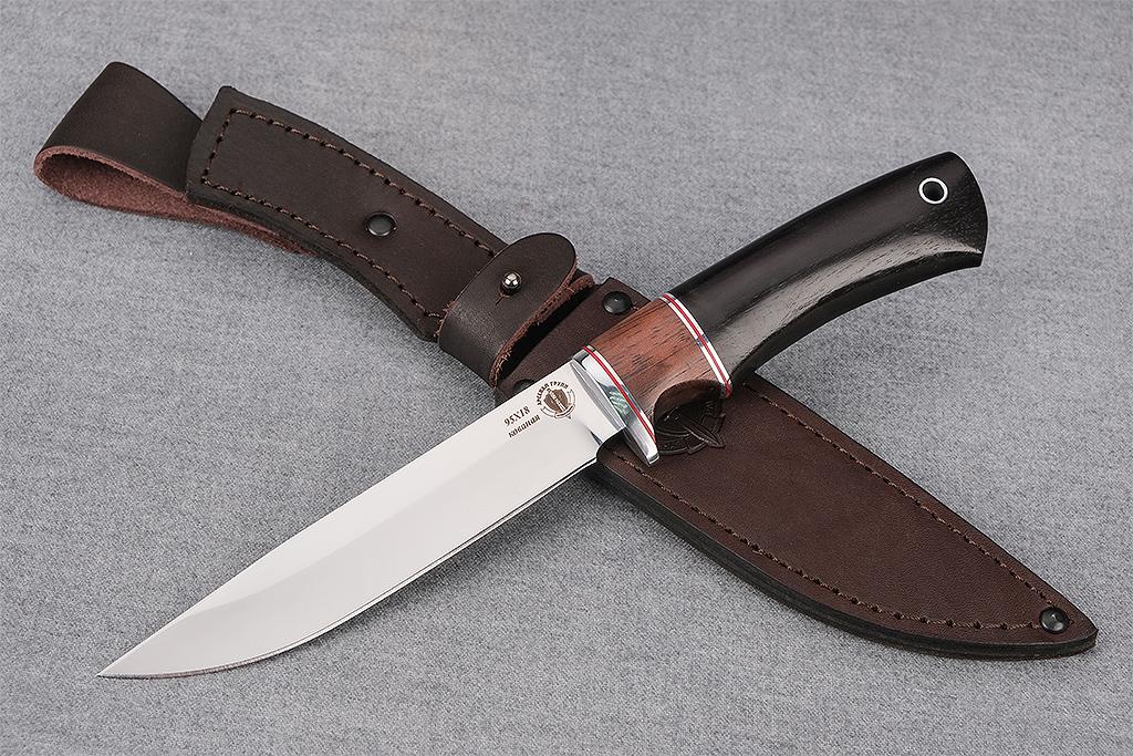 "Нож ""Коршун"" (Кованая сталь 95Х18, премиум граб)"