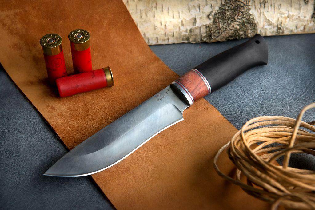 """Нож """"Беркут"""" (кованая сталь 95х18, премиум, граб)"""