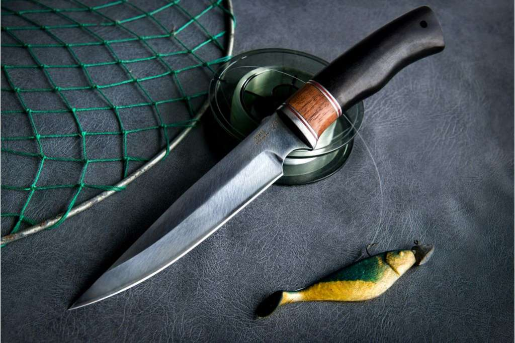 """Нож """"Каратель"""" (Кованая сталь 95х18, премиум, граб)"""