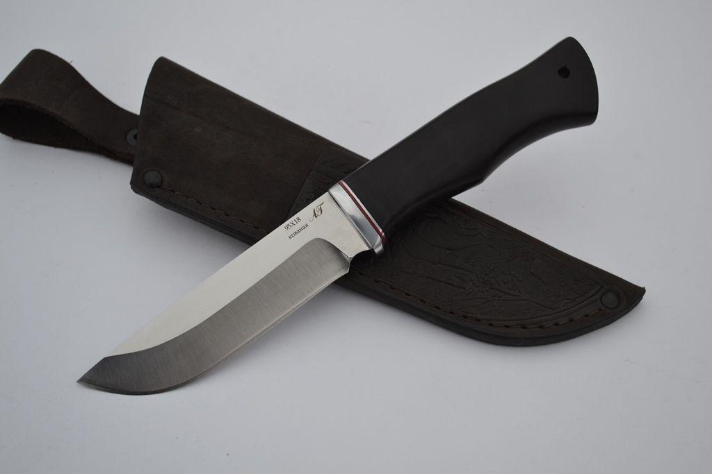 """Нож """"Лиса"""" (Кованая сталь 95х18, граб)"""