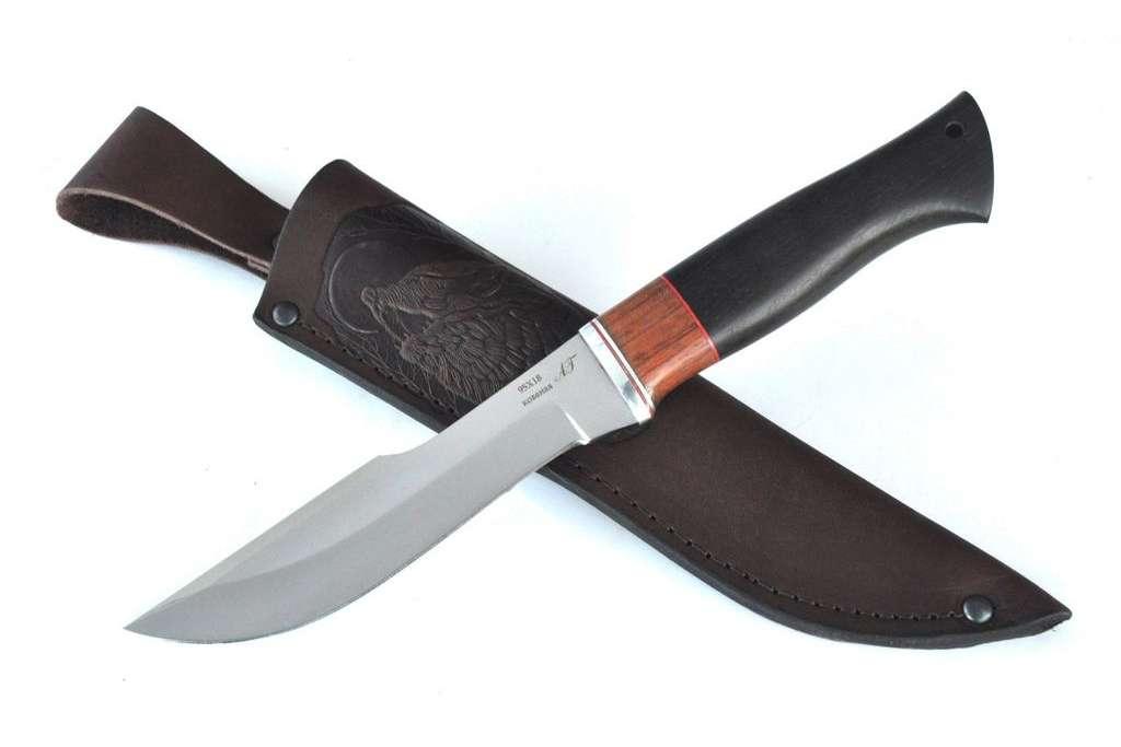 """Нож """"Медведь"""" (Кованая сталь 95х18, премиум, граб)"""