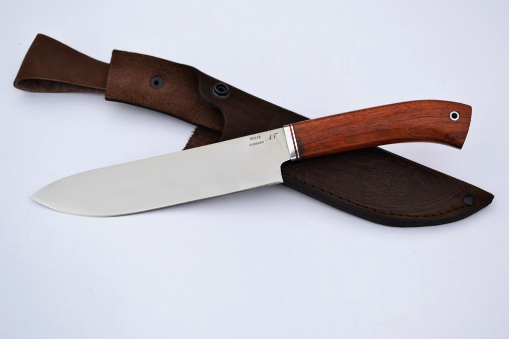 "Нож ""Шеф-повар-3"" (Кованая сталь 95Х18, бубинга)"