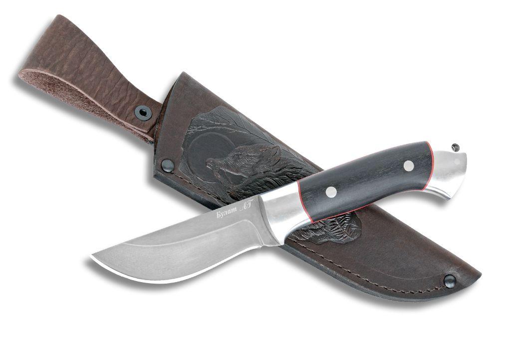 """Нож """"Грибник-2"""" (Булат, дюраль, граб, цельнометаллический)"""