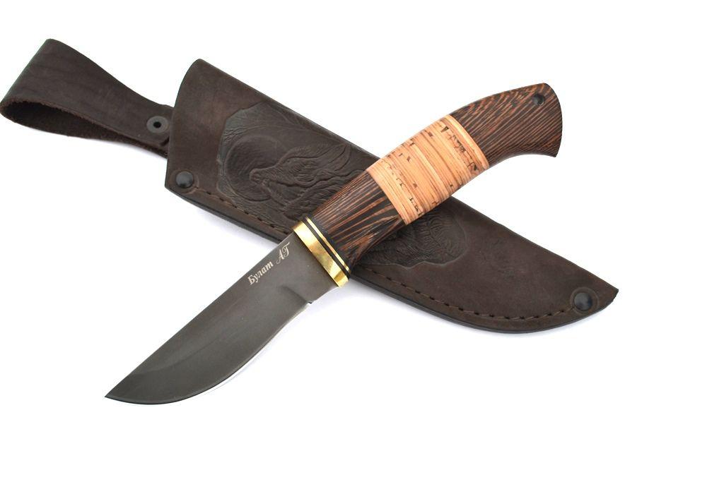 """Нож """"Грибник-2"""" (Булат, венге, береста)"""