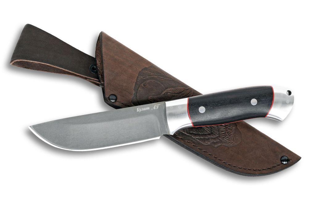 """Нож """"Лиса"""" (Булат, дюраль граб, цельнометаллический)"""