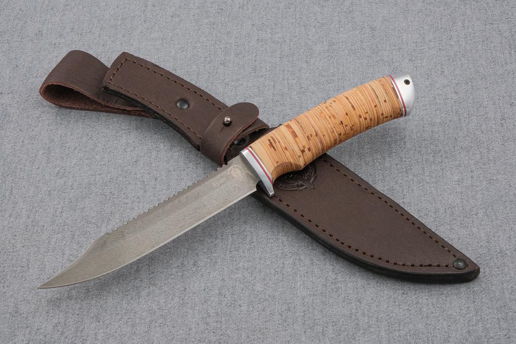 "Нож ""Рыбак"" (Булат, береста, дюраль)"