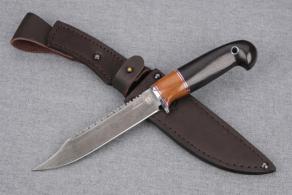 """Нож """"Рыбак"""" (Алмазная сталь ХВ5, премиум граб)"""