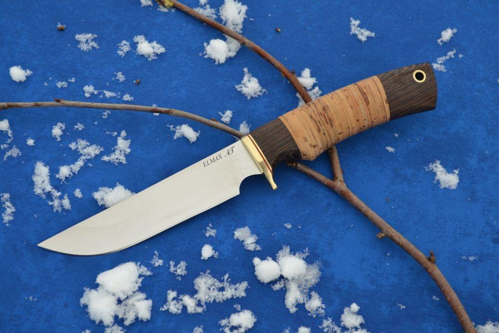 """Нож """"Варан"""" (ELAMAX, венге, береста)"""