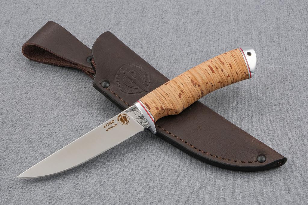 """Нож """"Грибник-2"""" (Х12МФ, береста, дюраль)"""