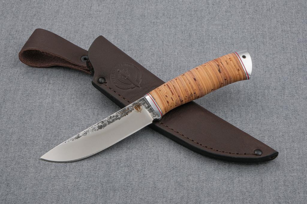 """Нож """"Лиса-2"""" (Х12МФ, береста, дюраль)"""