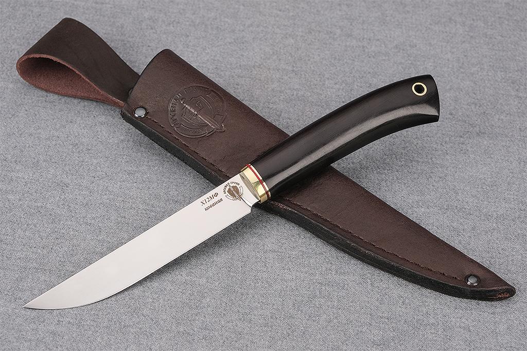 """Нож """"Шеф-повар-1"""" (Х12МФ, граб)"""