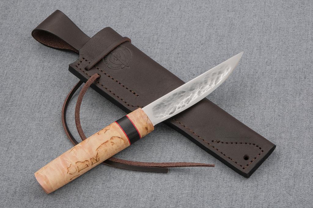 "Нож ""Якутский-2"" (Х12МФ, карельская береза, граб)"