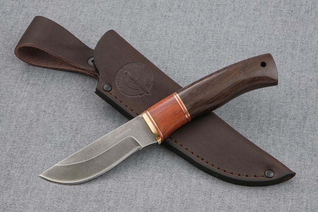 """Нож """"Грибник"""" (Алмазная сталь ХВ-5, венге, бубинга)"""