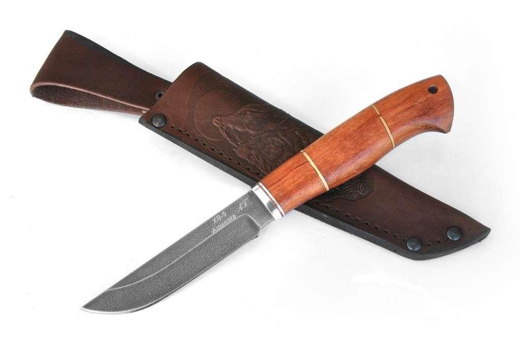 """Нож """"Грибник-3"""" (Алмазная сталь ХВ-5, бубинга)"""