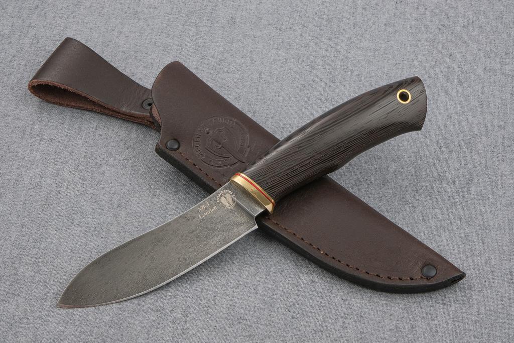 """Нож """"Лань"""" (Алмазная сталь ХВ-5, венге)"""
