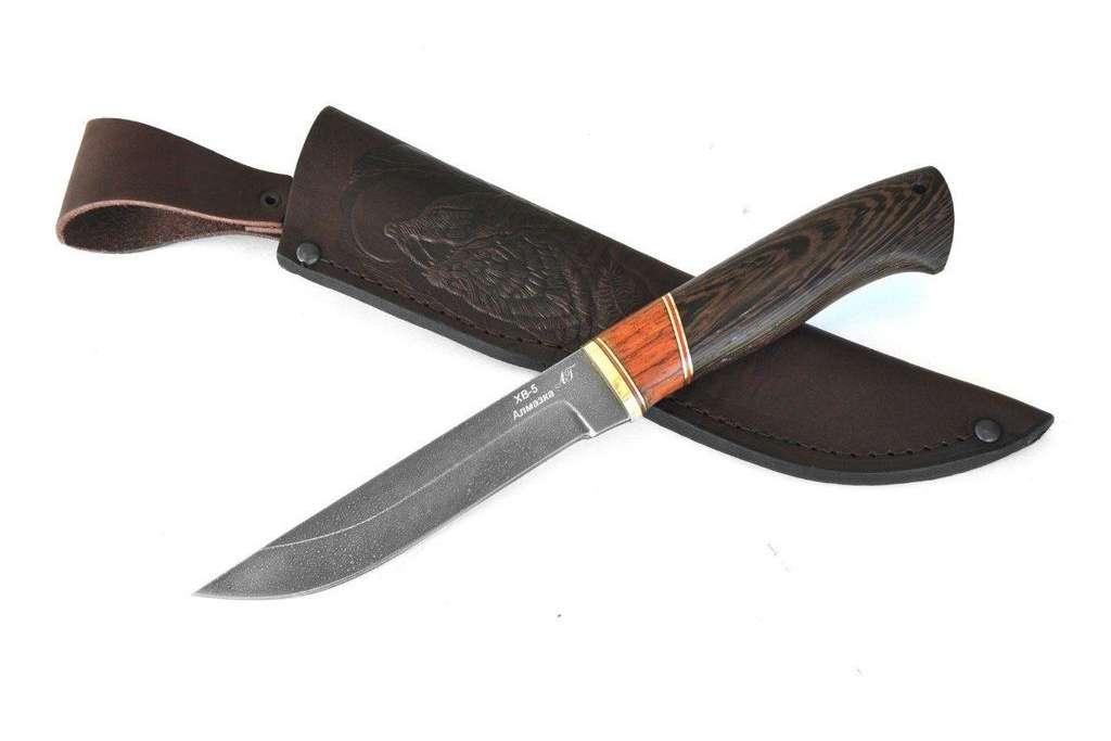 """Нож """"Ласка"""" (Алмазная сталь ХВ-5, премиум, венге)"""