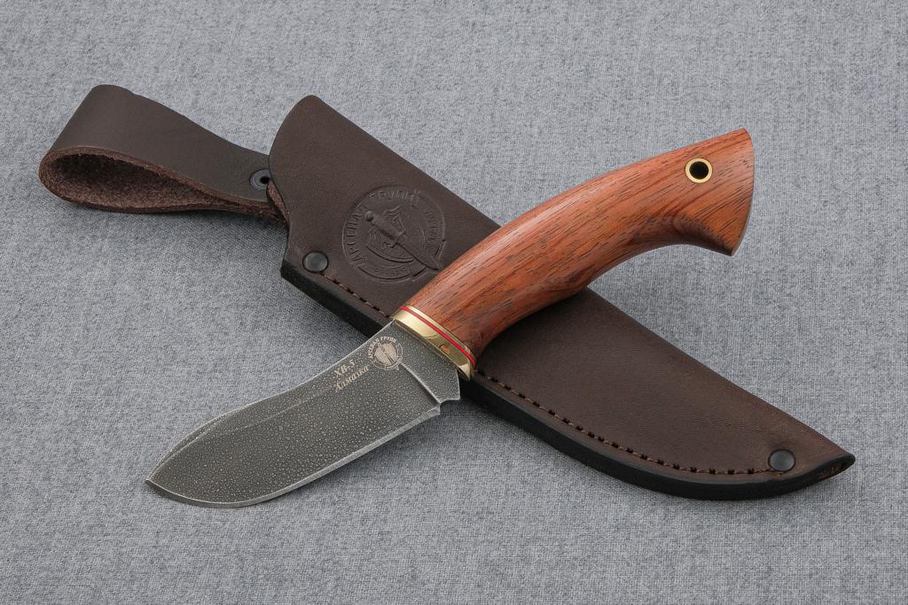 """Нож """"Скиннер-2"""" (Алмазная сталь ХВ-5, бубинга)"""