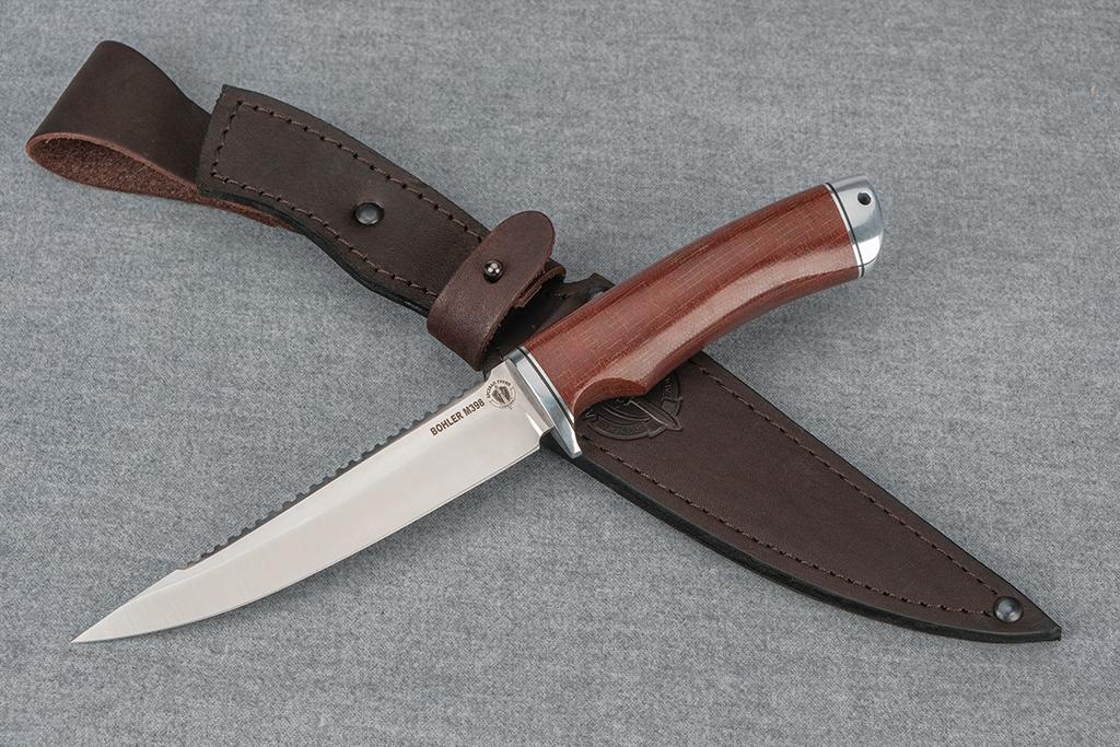 """Нож """"Рыбак-3"""" (М398, дюраль, текстолит)"""
